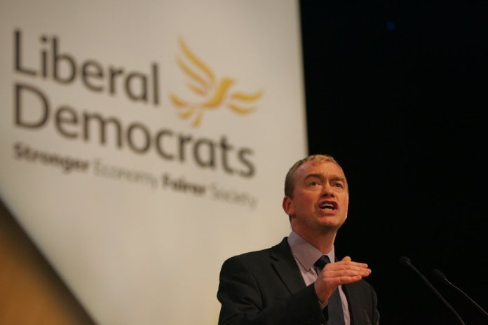 """Tim Farron interview: """"This is the very moment that the country needs a bold and competentopposition"""""""